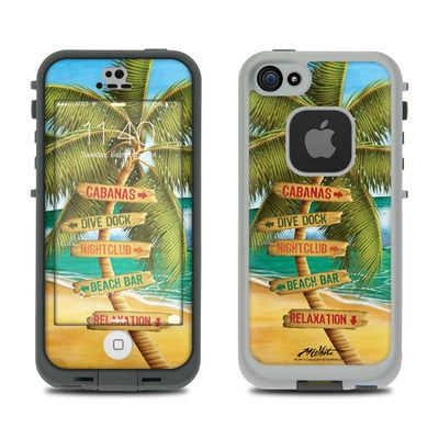 LifeProof iPhone 5S Fre Case Skin - Palm Signs