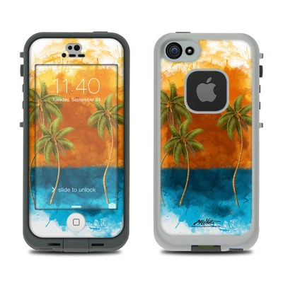 LifeProof iPhone 5S Fre Case Skin - Palm Trio