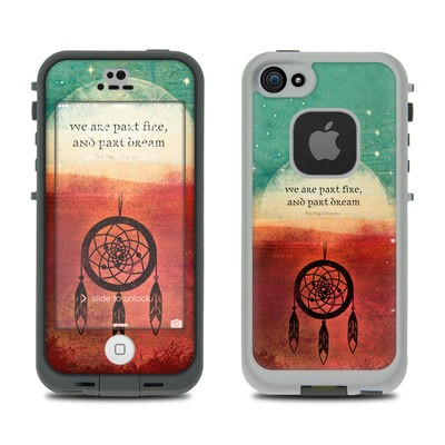 Lifeproof iPhone 5S Fre Case Skin - Part Fire