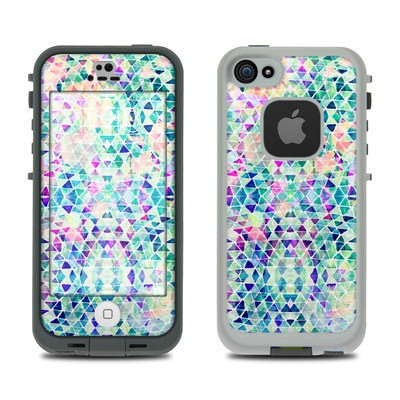 Lifeproof iPhone 5S Fre Case Skin - Pastel Triangle