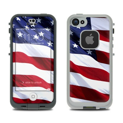 LifeProof iPhone 5S Fre Case Skin - Patriotic