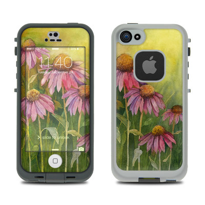 LifeProof iPhone 5S Fre Case Skin - Prairie Coneflower