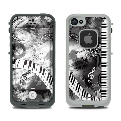 LifeProof iPhone 5S Fre Case Skin - Piano Pizazz