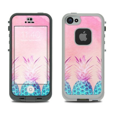 Lifeproof iPhone 5S Fre Case Skin - Pineapple Farm