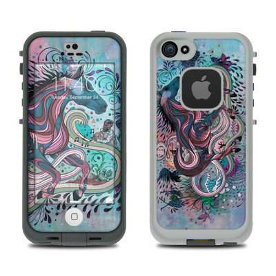 LifeProof iPhone 5S Fre Case Skin - Poetry in Motion
