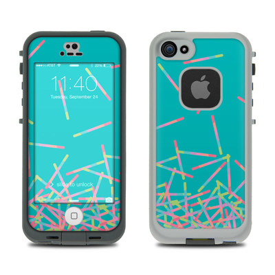 LifeProof iPhone 5S Fre Case Skin - Pop Rocks Wands