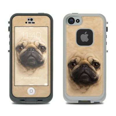 Lifeproof iPhone 5S Fre Case Skin - Pug