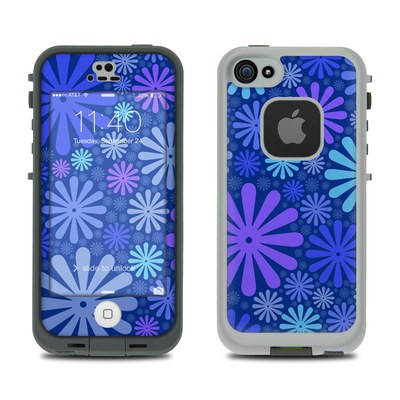 Lifeproof iPhone 5S Fre Case Skin - Indigo Punch