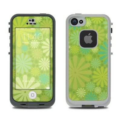Lifeproof iPhone 5S Fre Case Skin - Lime Punch
