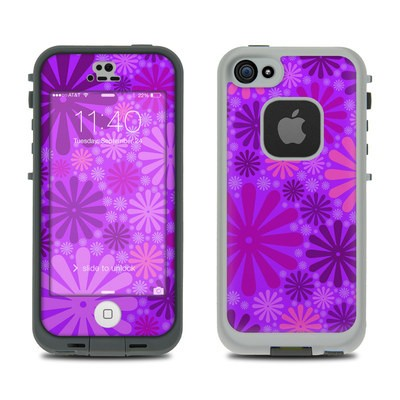Lifeproof iPhone 5S Fre Case Skin - Purple Punch
