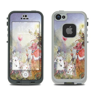 Lifeproof iPhone 5S Fre Case Skin - Queen of Hearts