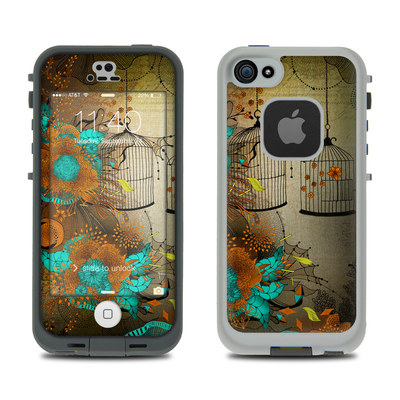 LifeProof iPhone 5S Fre Case Skin - Rusty Lace