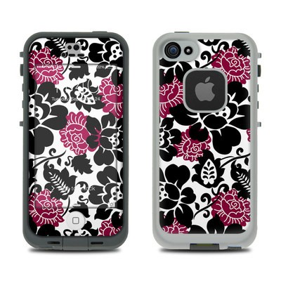 Lifeproof iPhone 5S Fre Case Skin - Rose Noir