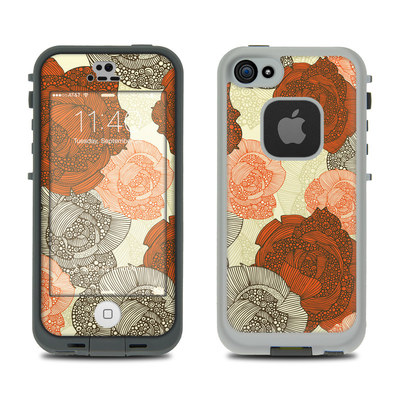 LifeProof iPhone 5S Fre Case Skin - Roses