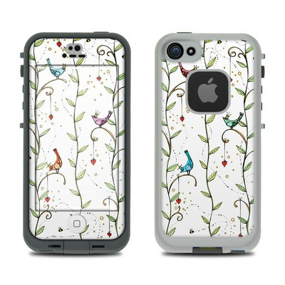 Lifeproof iPhone 5S Fre Case Skin - Royal Birds