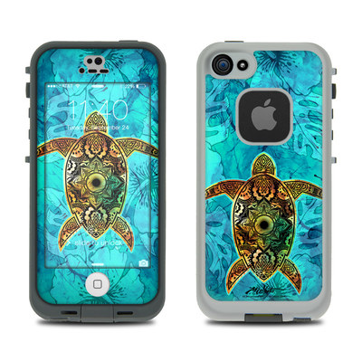 LifeProof iPhone 5S Fre Case Skin - Sacred Honu