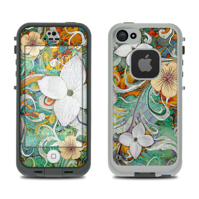 LifeProof iPhone 5S Fre Case Skin - Sangria Flora