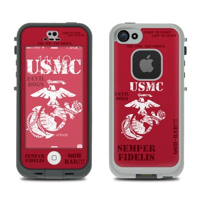 LifeProof iPhone 5S Fre Case Skin - Semper Fi