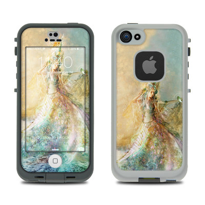 LifeProof iPhone 5S Fre Case Skin - The Shell Maiden