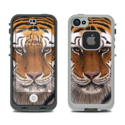 LifeProof iPhone 5S Fre Case Skin - Siberian Tiger