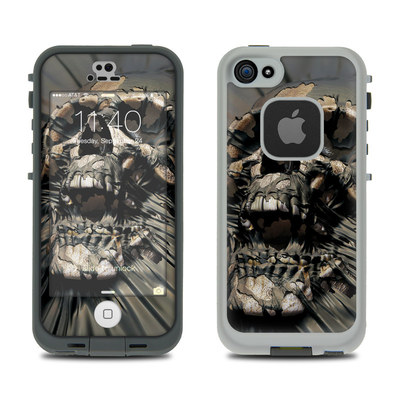 LifeProof iPhone 5S Fre Case Skin - Skull Wrap