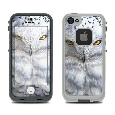LifeProof iPhone 5S Fre Case Skin - Snowy Owl