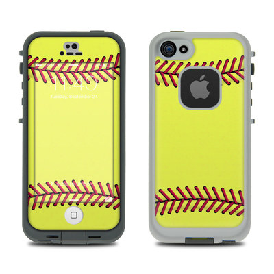 LifeProof iPhone 5S Fre Case Skin - Softball
