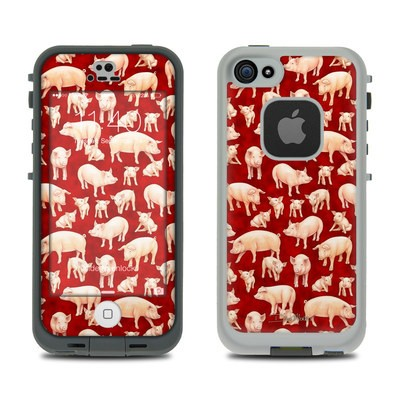 Lifeproof iPhone 5S Fre Case Skin - Some Pig