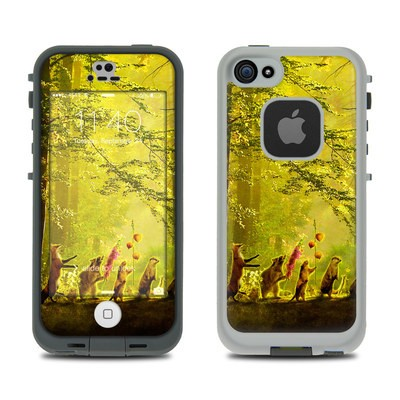 Lifeproof iPhone 5S Fre Case Skin - Secret Parade