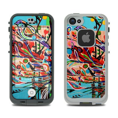 Lifeproof iPhone 5S Fre Case Skin - Spring Birds