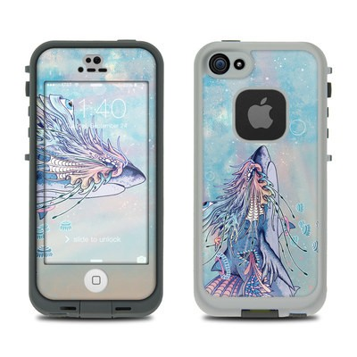 Lifeproof iPhone 5S Fre Case Skin - Spirit Shark