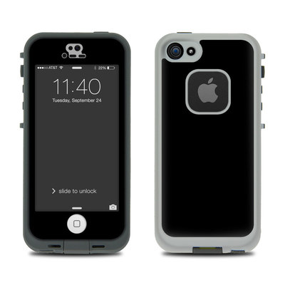 LifeProof iPhone 5S Fre Case Skin - Solid State Black