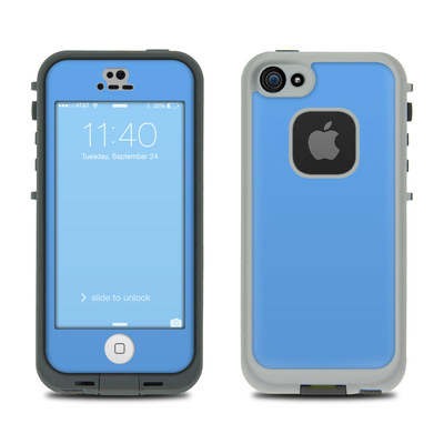 LifeProof iPhone 5S Fre Case Skin - Solid State Blue
