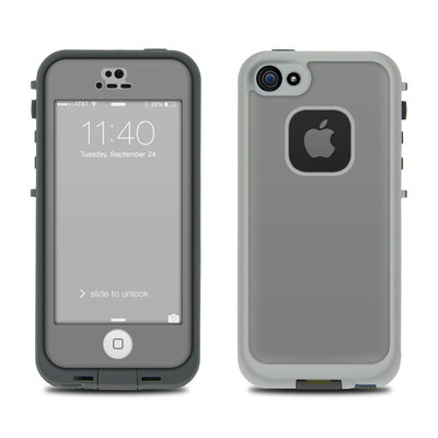 LifeProof iPhone 5S Fre Case Skin - Solid State Grey