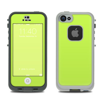 LifeProof iPhone 5S Fre Case Skin - Solid State Lime
