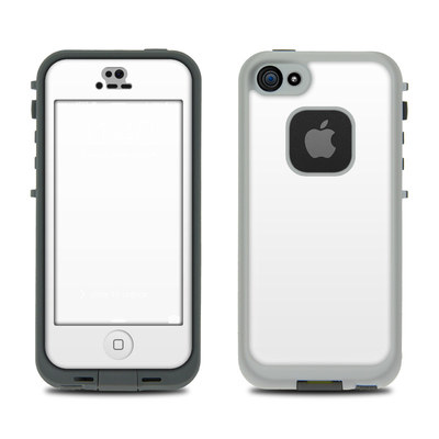 LifeProof iPhone 5S Fre Case Skin - Solid State White