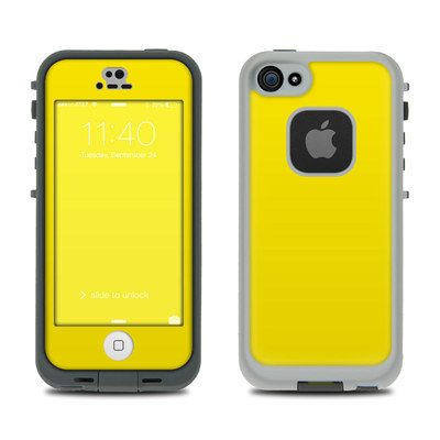 LifeProof iPhone 5S Fre Case Skin - Solid State Yellow
