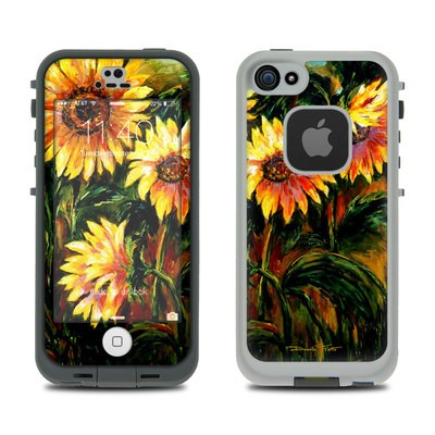 Lifeproof iPhone 5S Fre Case Skin - Sunflower Sunshine