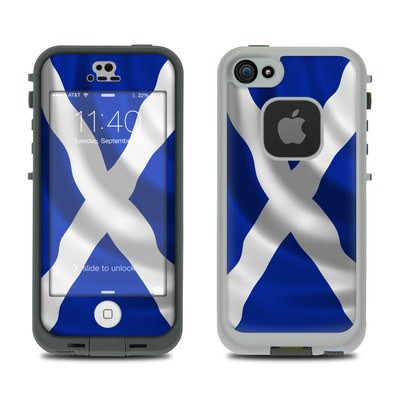 Lifeproof iPhone 5S Fre Case Skin - St. Andrew's Cross