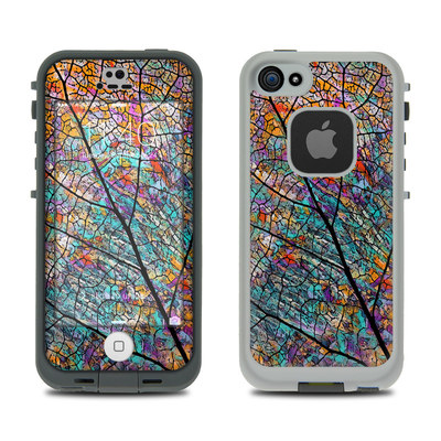 LifeProof iPhone 5S Fre Case Skin - Stained Aspen
