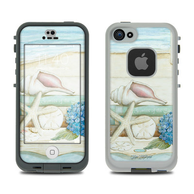 LifeProof iPhone 5S Fre Case Skin - Stories of the Sea