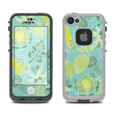 Lifeproof iPhone 5S Fre Case Skin - Succulents