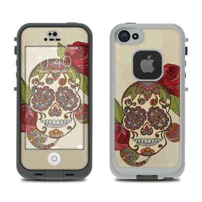 LifeProof iPhone 5S Fre Case Skin - Sugar Skull