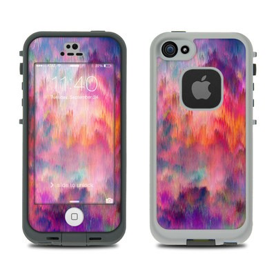 Lifeproof iPhone 5S Fre Case Skin - Sunset Storm