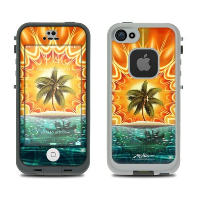 Lifeproof iPhone 5S Fre Case Skin - Sundala Tropic