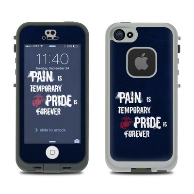 LifeProof iPhone 5S Fre Case Skin - Pain is Temporary