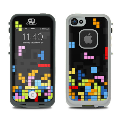 LifeProof iPhone 5S Fre Case Skin - Tetrads