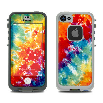 LifeProof iPhone 5S Fre Case Skin - Tie Dyed
