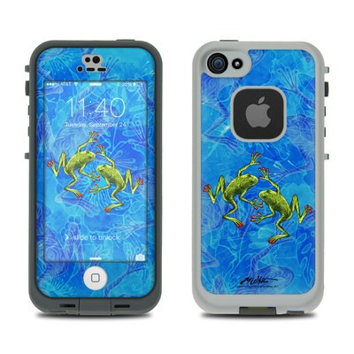 Lifeproof iPhone 5S Fre Case Skin - Tiger Frogs