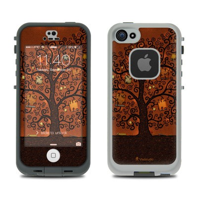 Lifeproof iPhone 5S Fre Case Skin - Tree Of Books